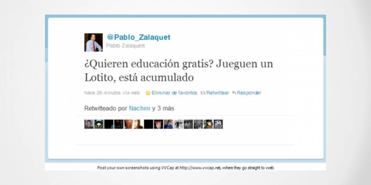 Chile: Universitario que suplantó al alcalde de Santiago en Twitter fue detenido por la policía