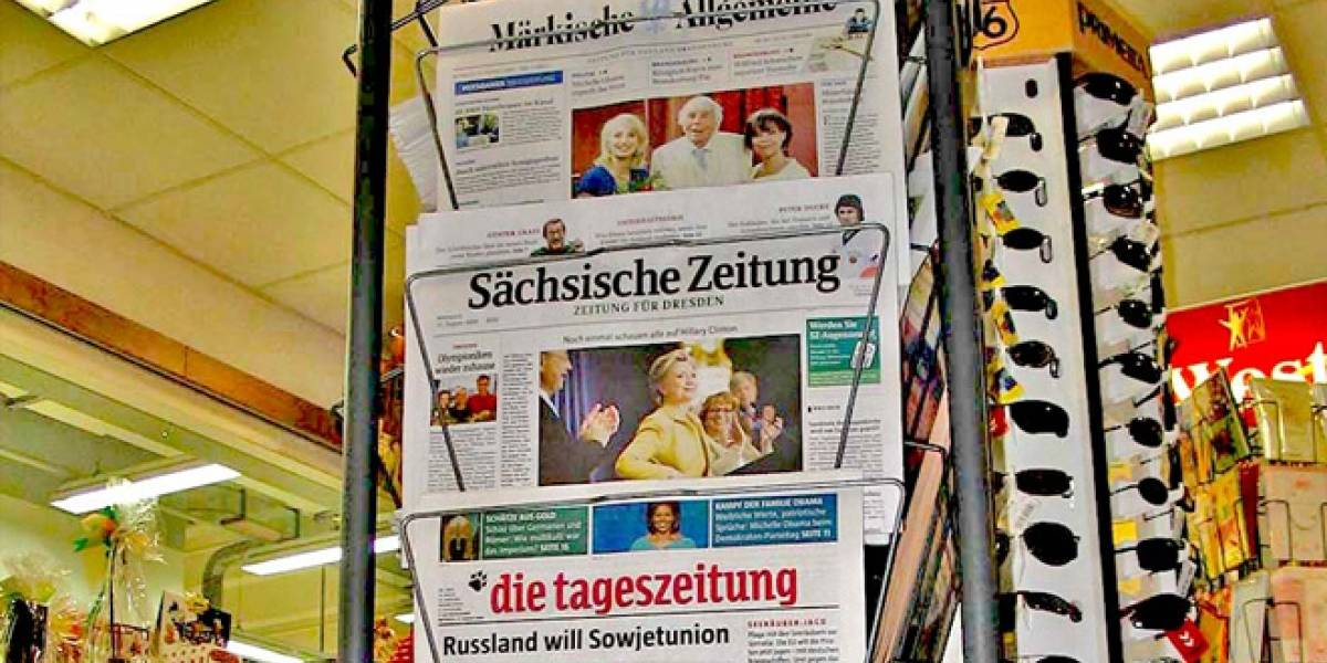 Prensa alemana quiere que Google les pague por reproducir sus titulares