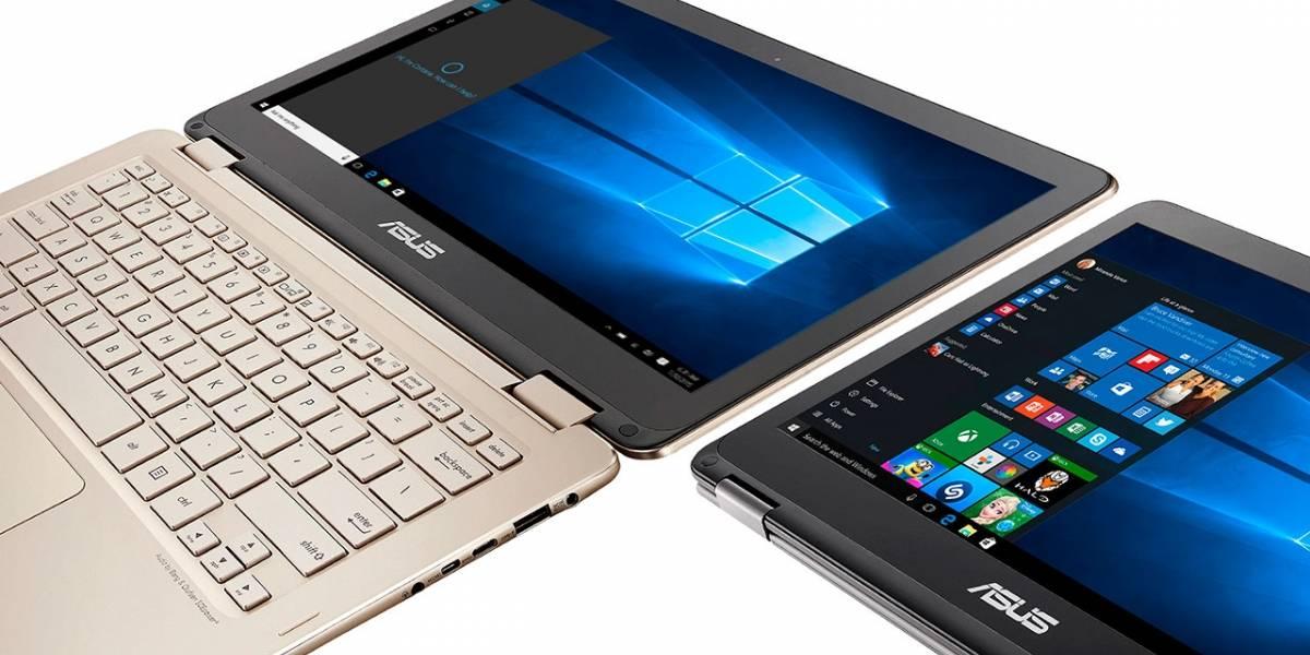 Asus presentó la ZenBook Flip con capacidad 2-en-1