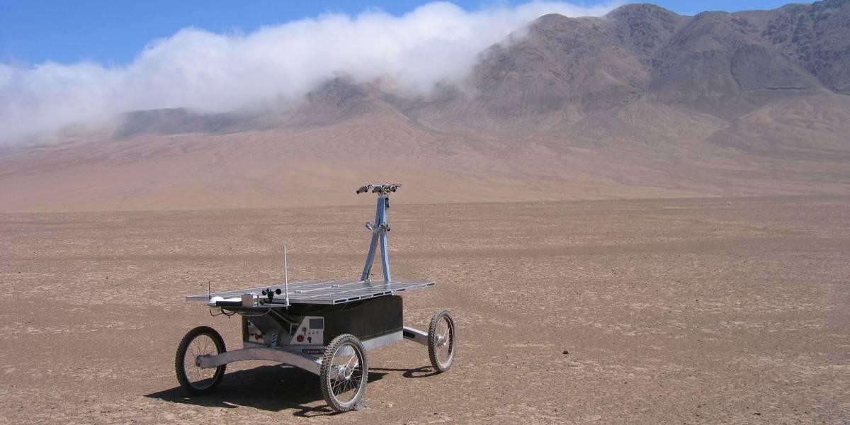 Rover Zoë investiga la vida en el desierto de Atacama para aprender de Marte