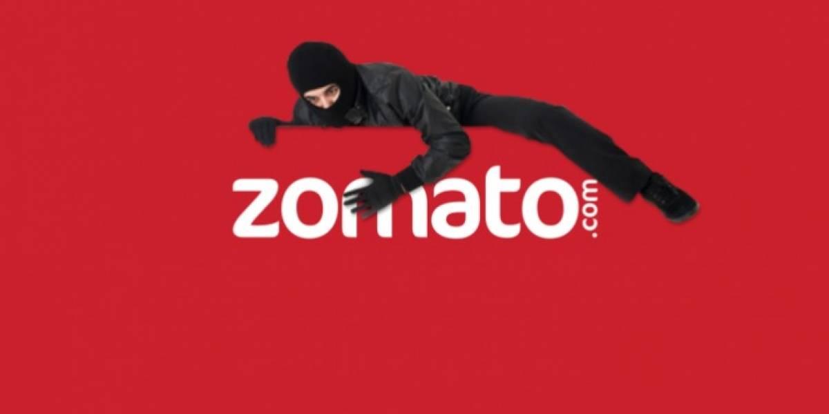 La aplicación Zomato ha sido hackeada