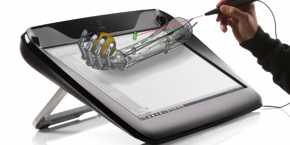 Desarrollan interfaz de alta precisión para interactuar con objetos 3D virtuales