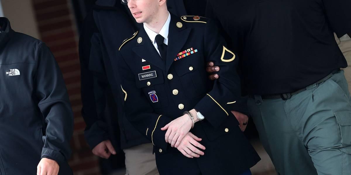 Manning es sentenciado a 35 años de cárcel por dar información a WikiLeaks