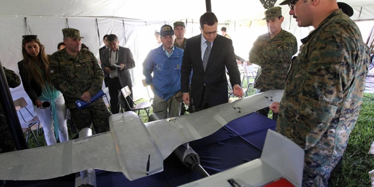 Dron del ejército de Chile se estrella en una casa particular en Hualpén