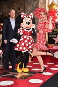 Katy Perry y Minnie Mouse