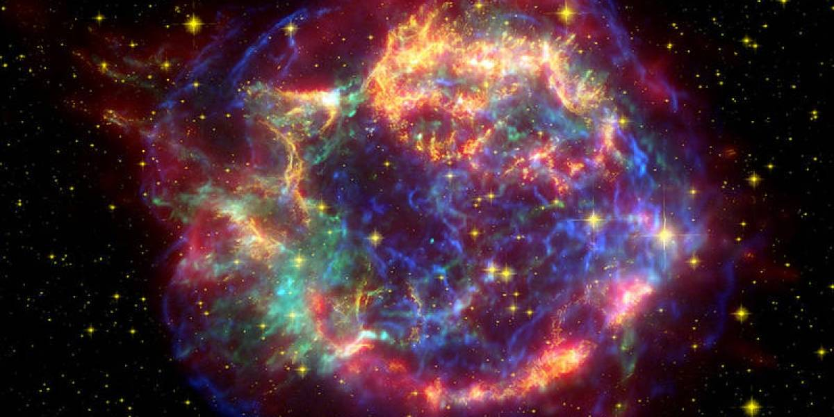 Encuentran por primera vez evidencia biológica en la Tierra de una supernova