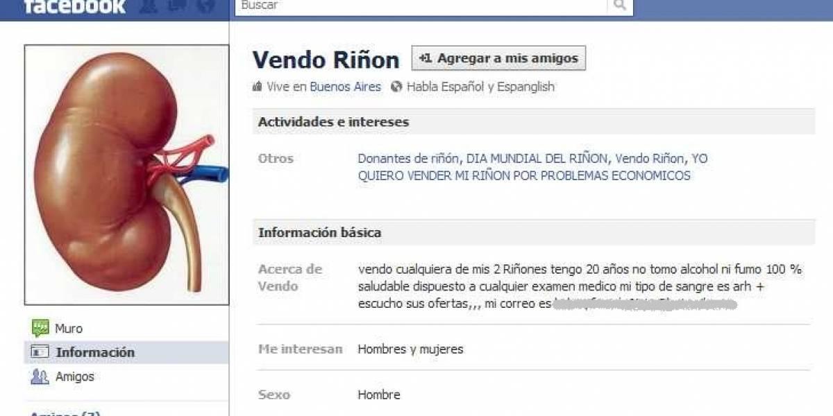 Argentina: Detectan venta de órganos humanos en portales de comercio electrónico