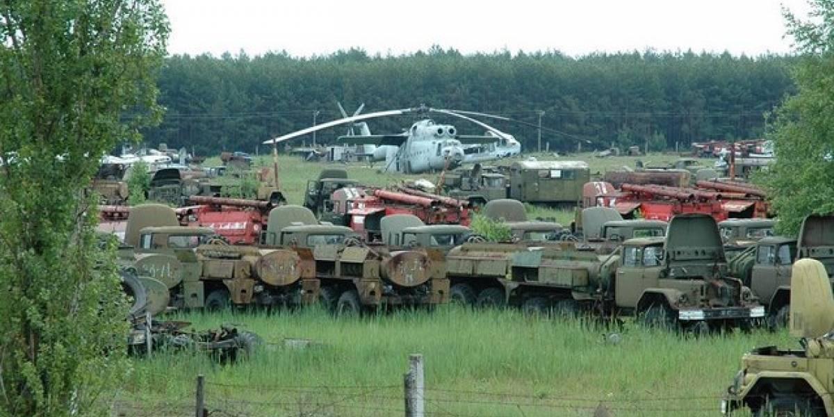 FW Galería: Las máquinas de Chernóbil
