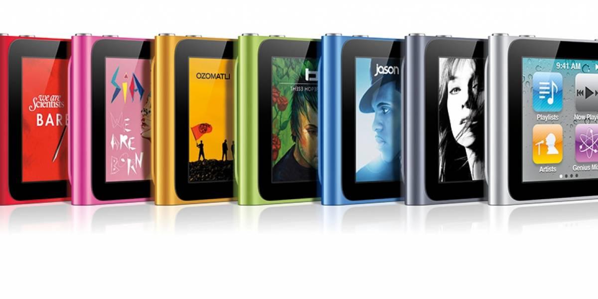 Nuevos iPods Shuffle y Nano ahora más ligeros