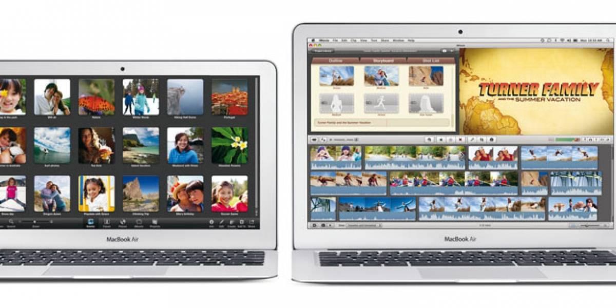 Los nuevos MacBook Air ya están disponibles con iLife'11 en México y España
