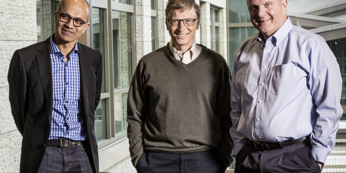 Nadella: El futuro de Microsoft está en la reinvención