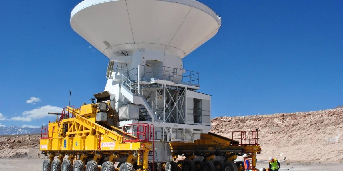 Observatorio ALMA recibió la última de sus 66 antenas