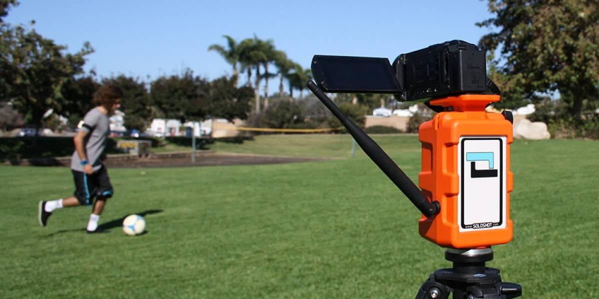 SoloShot, un sistema para deportistas que quieran grabarse a sí mismos #CES2014