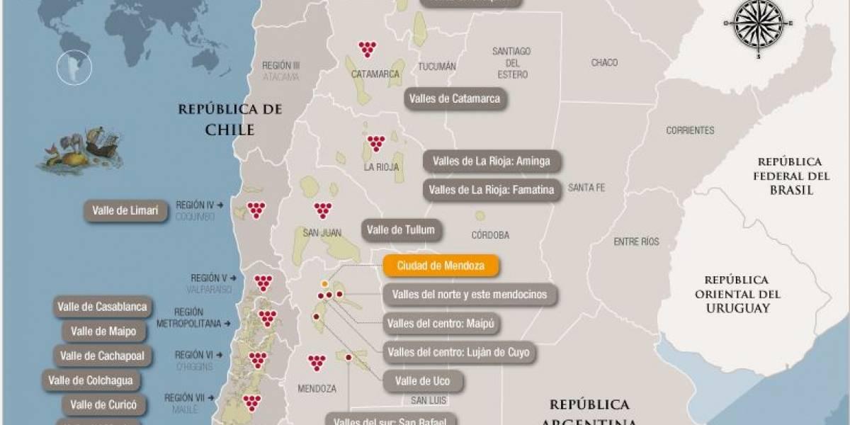 Wine Map: Portal argentino para turistas amantes del buen beber