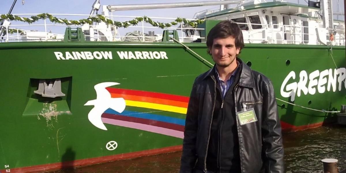 Pablo Bullrich, un argentino a bordo del Rainbow Warrior III de Greenpeace [FW Interviú]