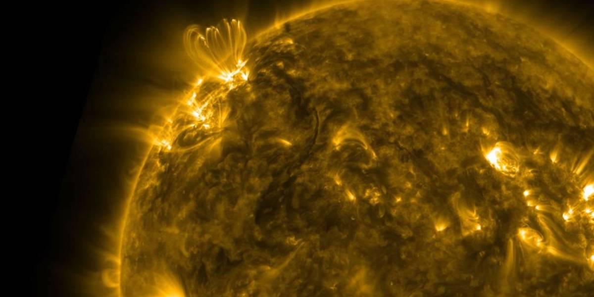 NASA muestra impresionante vídeo del Sol en definición 4K