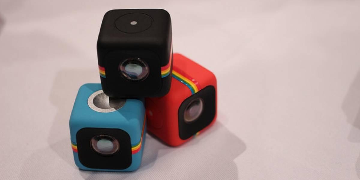 Polaroid demanda a GoPro por usar el diseño de su cámara Cube