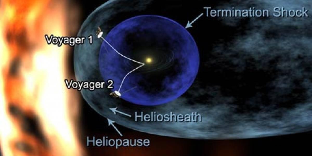Sonda Voyager I muy cerca de dar el salto al espacio interestelar