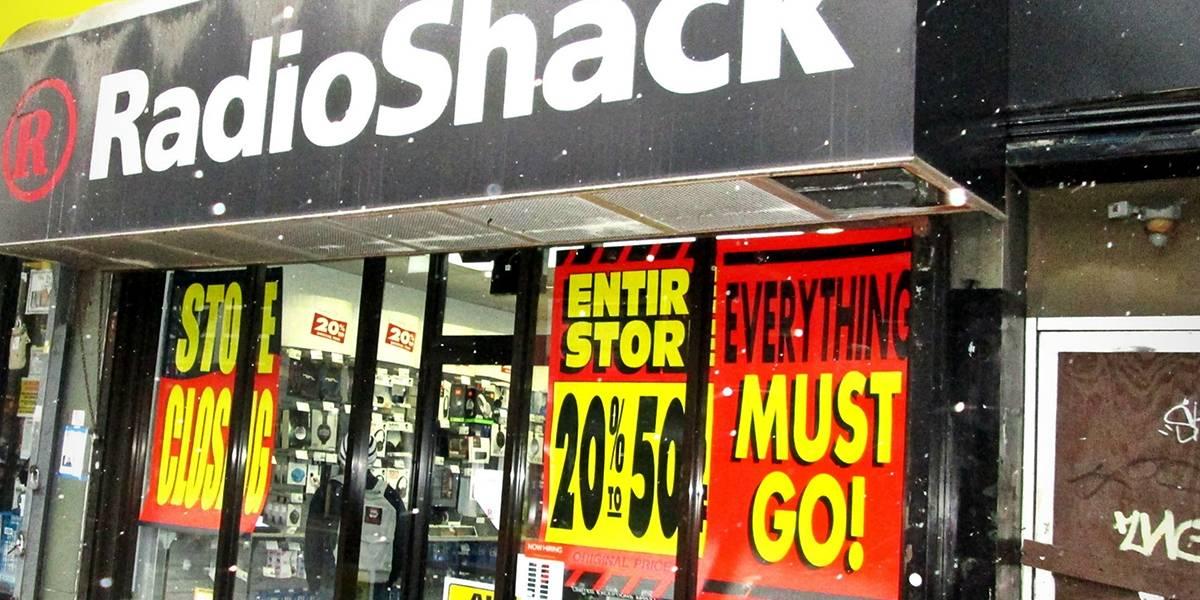 RadioShack está vendiendo la información de sus usuarios al mejor postor