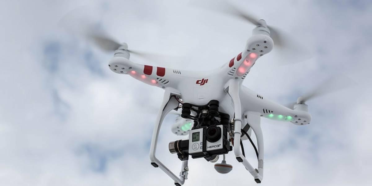 Así reacciona un grupo de niños al ver un dron por primera vez