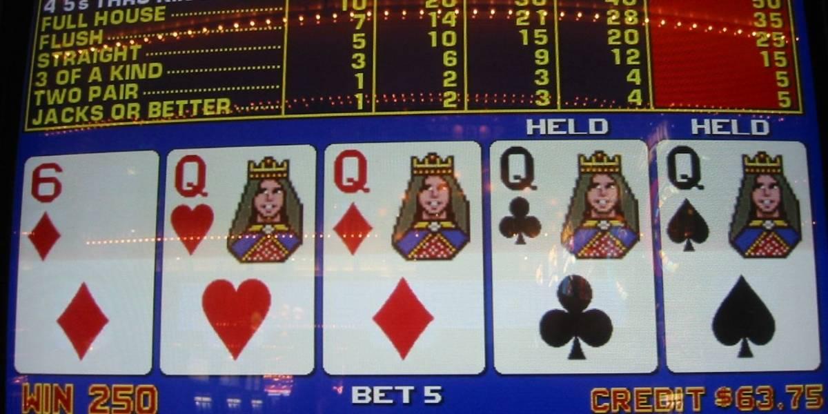 Dos apostadores lograron 'derrotar a la casa' gracias a bug en máquina de poker