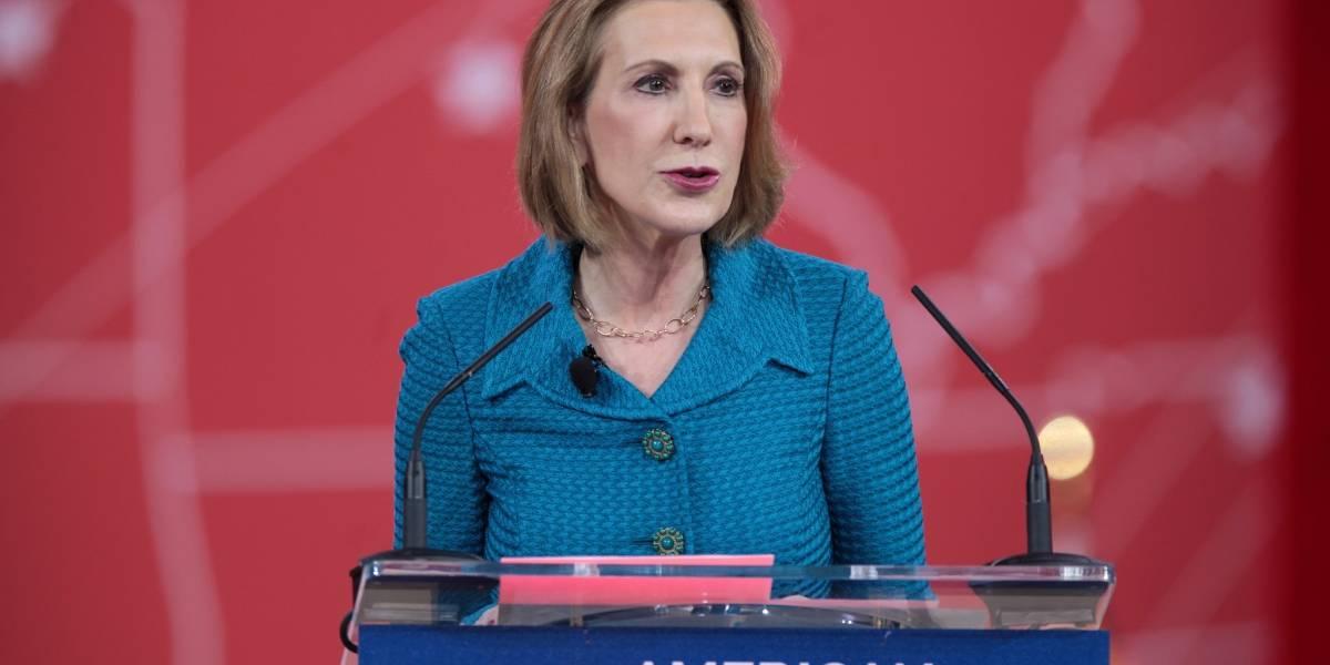 Ex directora ejecutiva de HP busca la presidencia de Estados Unidos en 2016