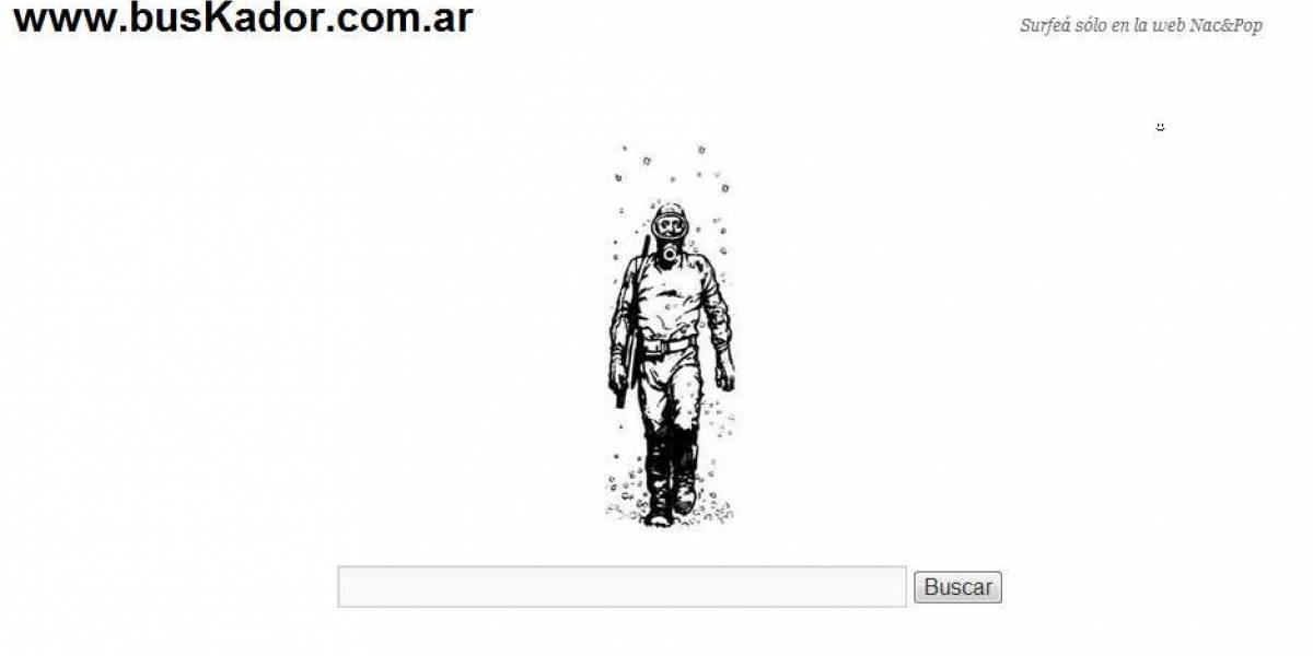 Buscador argentino que muestra resultados alineados con la ideología política oficialista