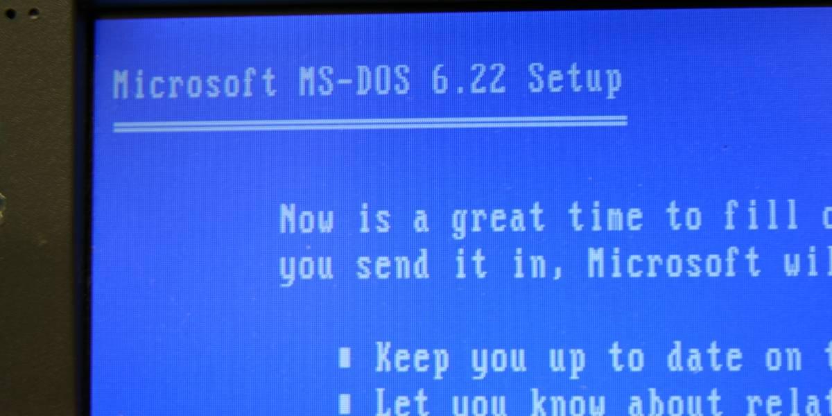 Ve en acción a los antiguos virus informáticos de la epoca de MS-DOS