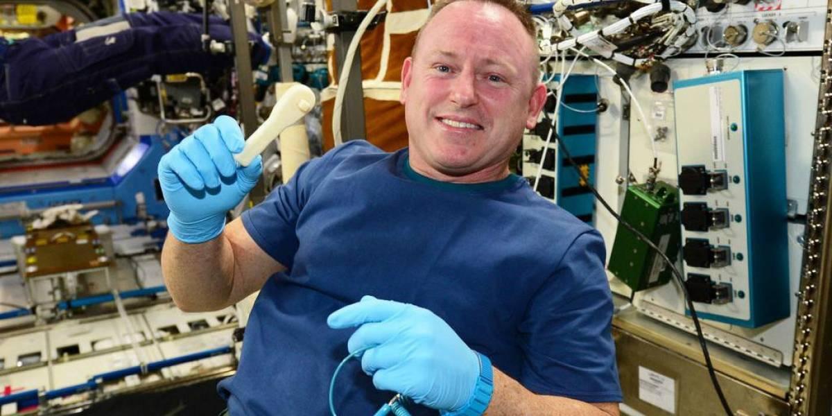 NASA envió una herramienta a la Estación Espacial Internacional por e-mail