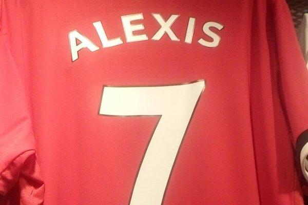 Camiseta de Alexis Sánchez