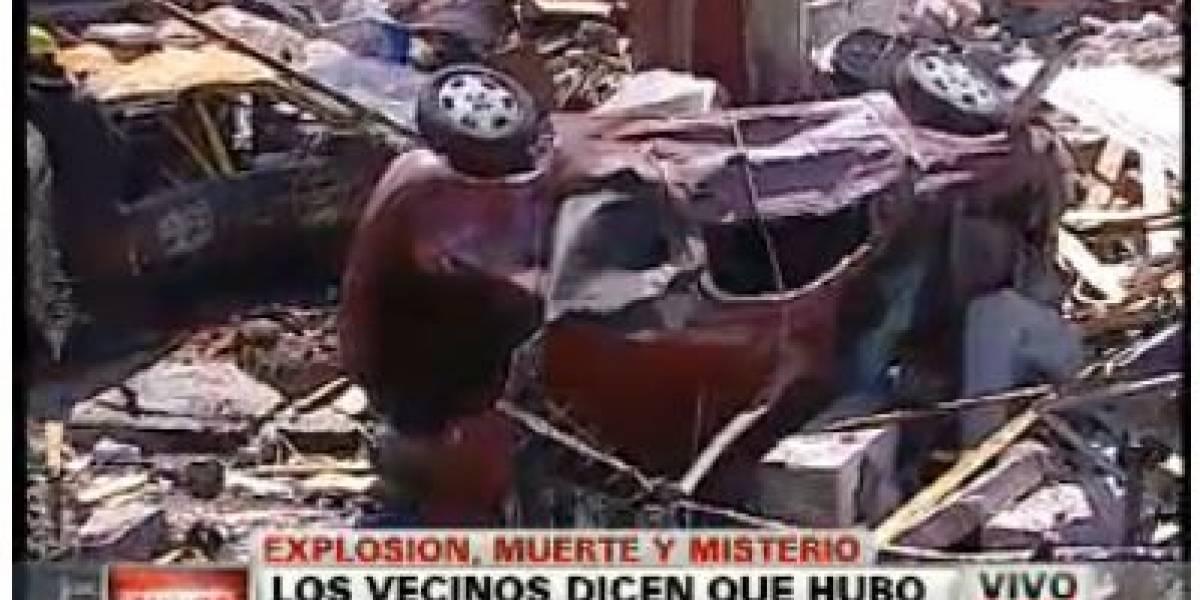 Argentina: Misteriosa explosión provoca un muerto y nueve heridos