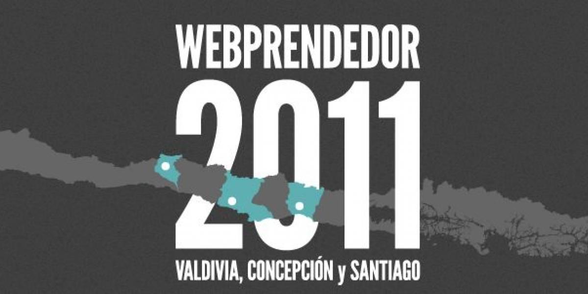 Chile: Webprendedor 2011 llegará a Valdivia, Concepción y Santiago
