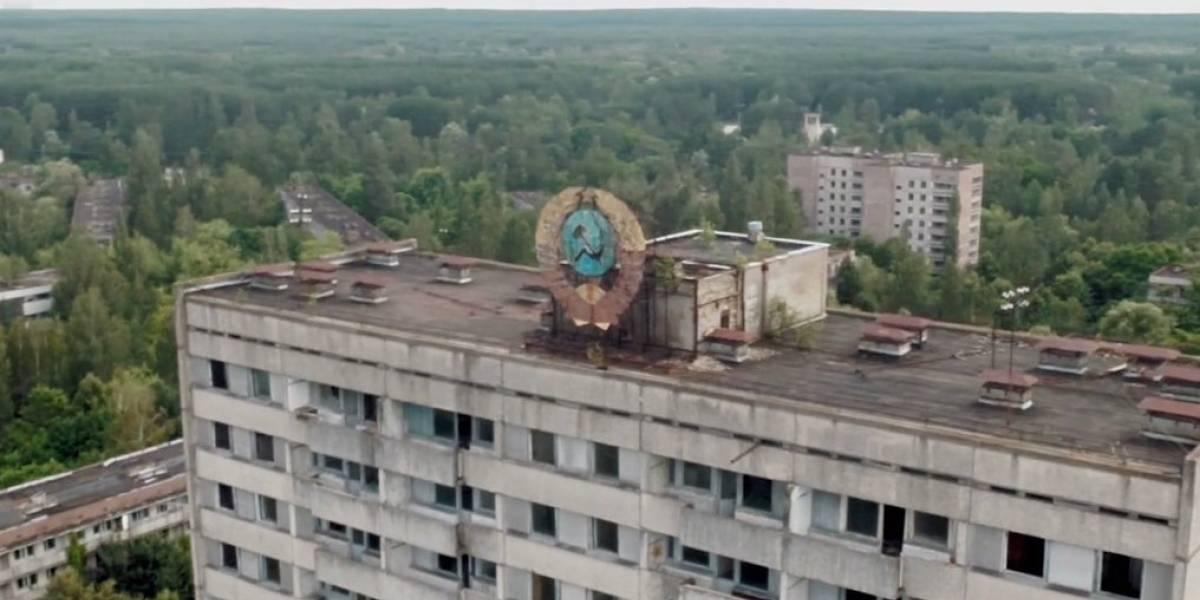 Conoce las ruinas de Prípiat y Chérnobil vistas desde un dron