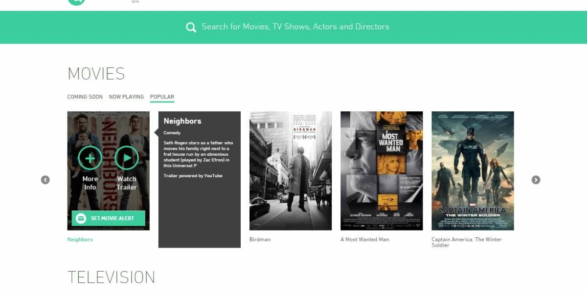 MPAA lanza sitio que muestra alternativas legales para ver una determinada serie o película