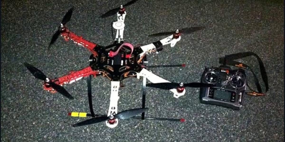 Capturan dron utilizado para contrabandear tabaco al interior de una cárcel