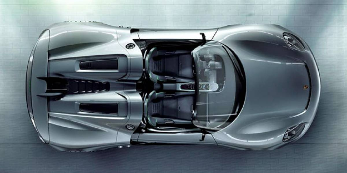 Porsche 918 Spyder: El deportivo híbrido más sexy entrará a producción