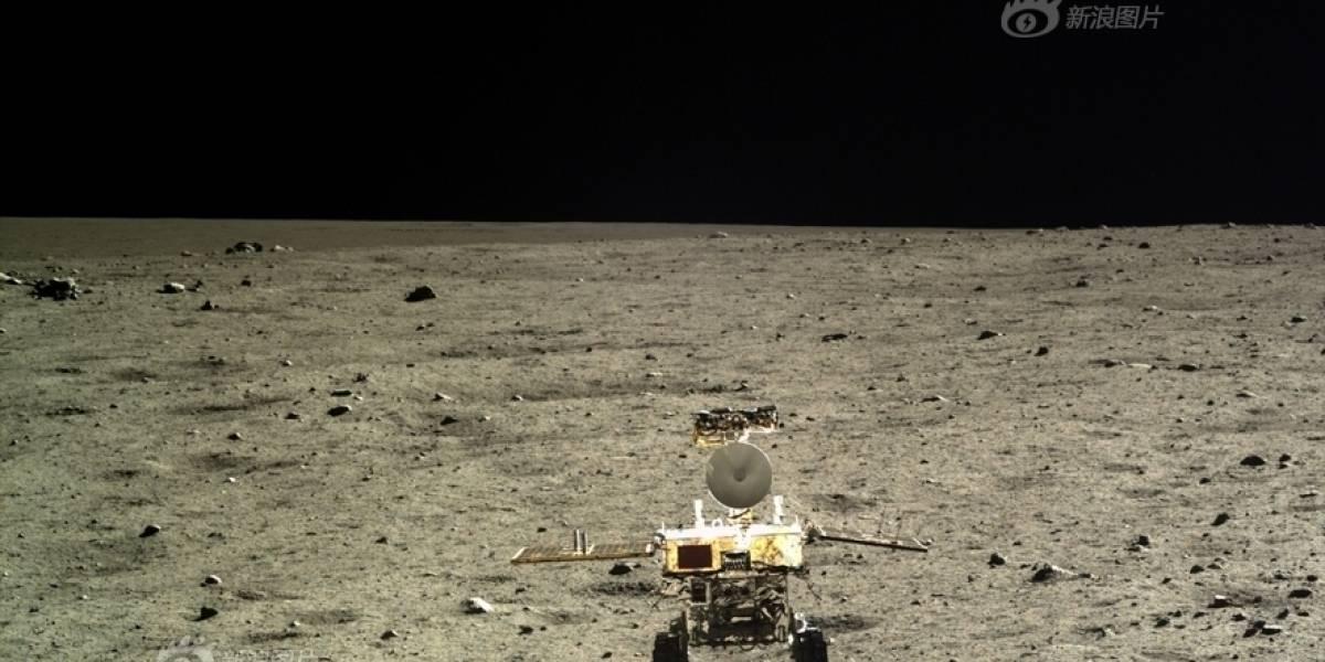 Rover lunar chino 'conejo de Jade' presentó sus primeros problemas