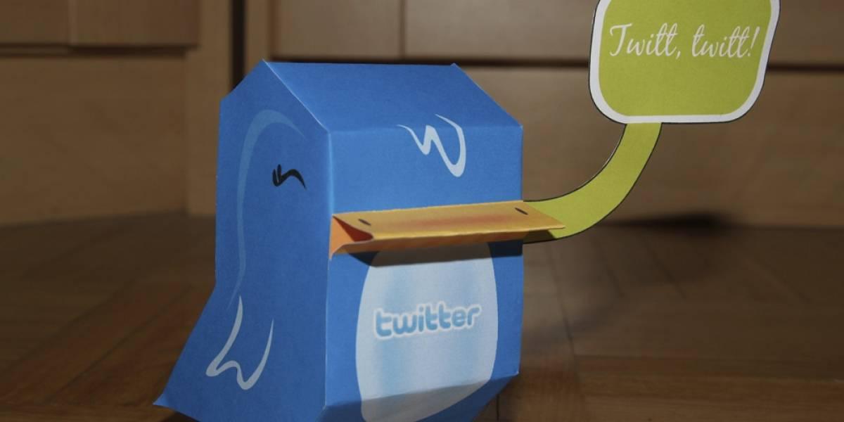 Twitter está experimentando entregar notificaciones de noticias a través de @eventparrot
