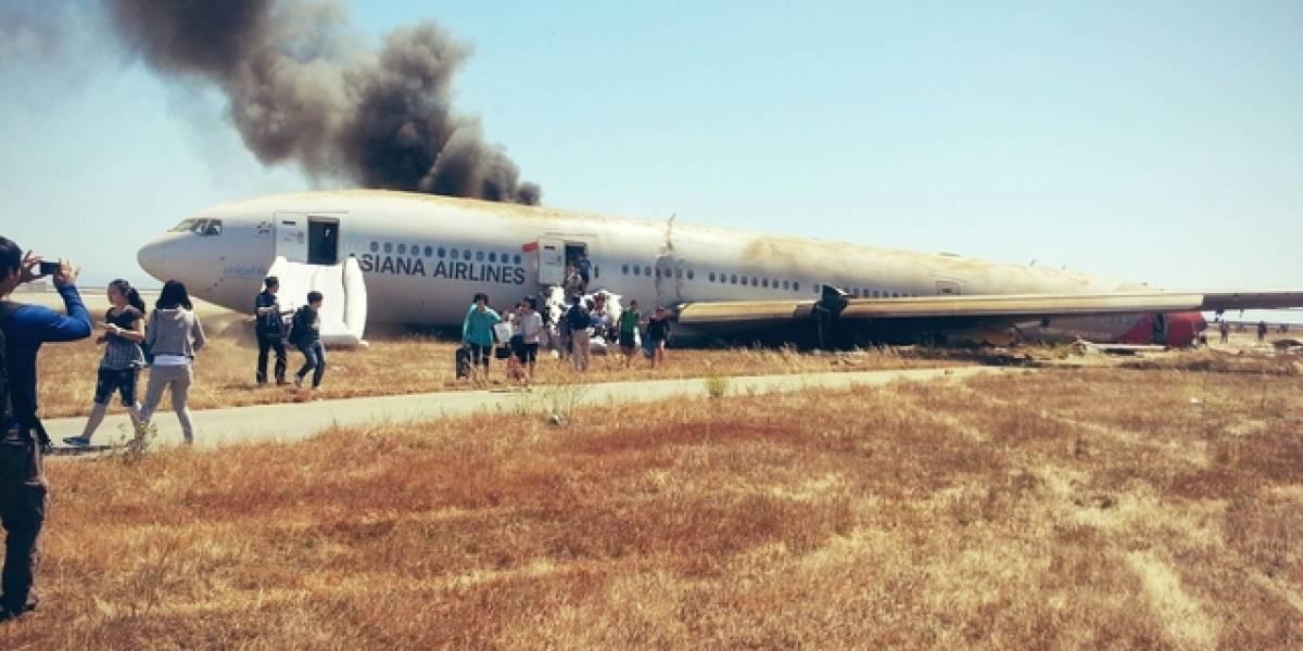 Ejecutivo de Samsung entre los sobrevivientes de accidente aéreo en San Francisco