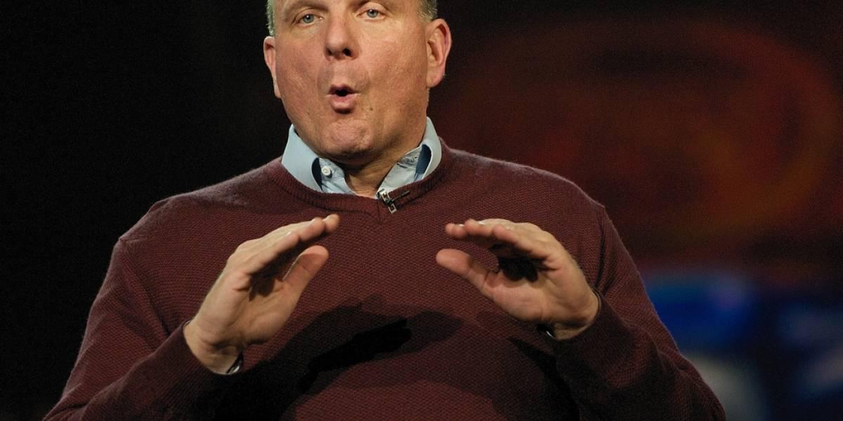Steve Ballmer: La única competencia para Apple es Microsoft