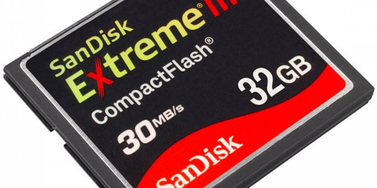 Nikon, SanDisk y Sony se unen para crear un nuevo tipo de tarjeta de memoria