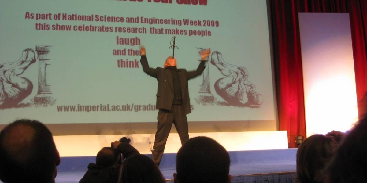 Sigue ahora la transmisión en directo de los Premios Ig Nobel