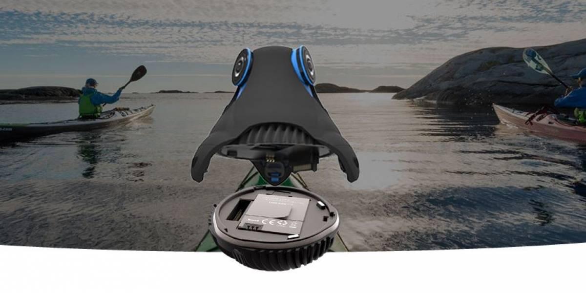 Giroptic está construyendo una cámara de realidad virtual a la GoPro