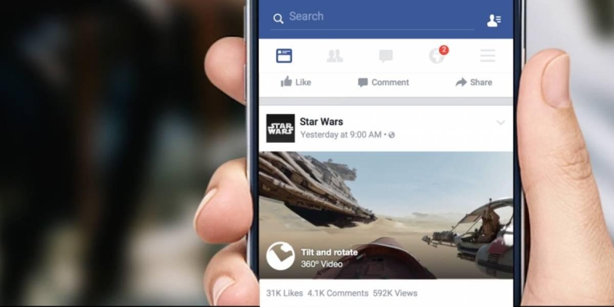 Los videos de Facebook son vistos por 500 millones de usuarios al día
