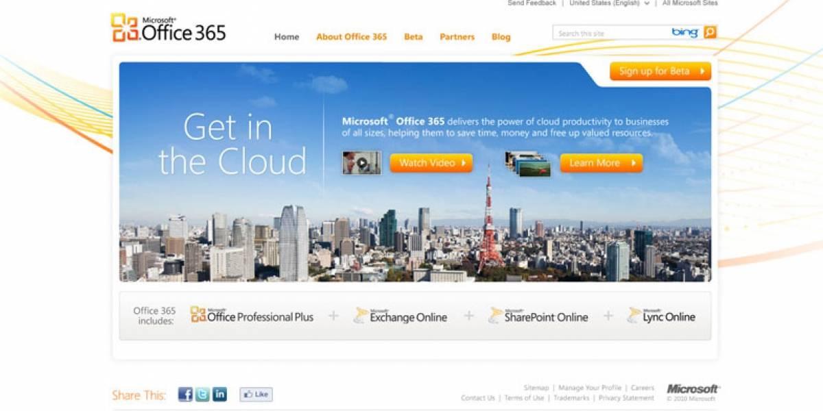"""Microsoft anuncia sus propias Apps en la nube, llamadas """"Office 365"""""""