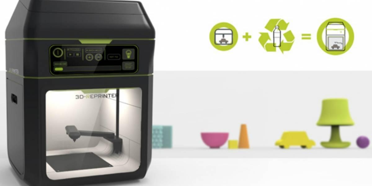 3D-Reprinter, una impresora 3D que recicla botellas de plástico