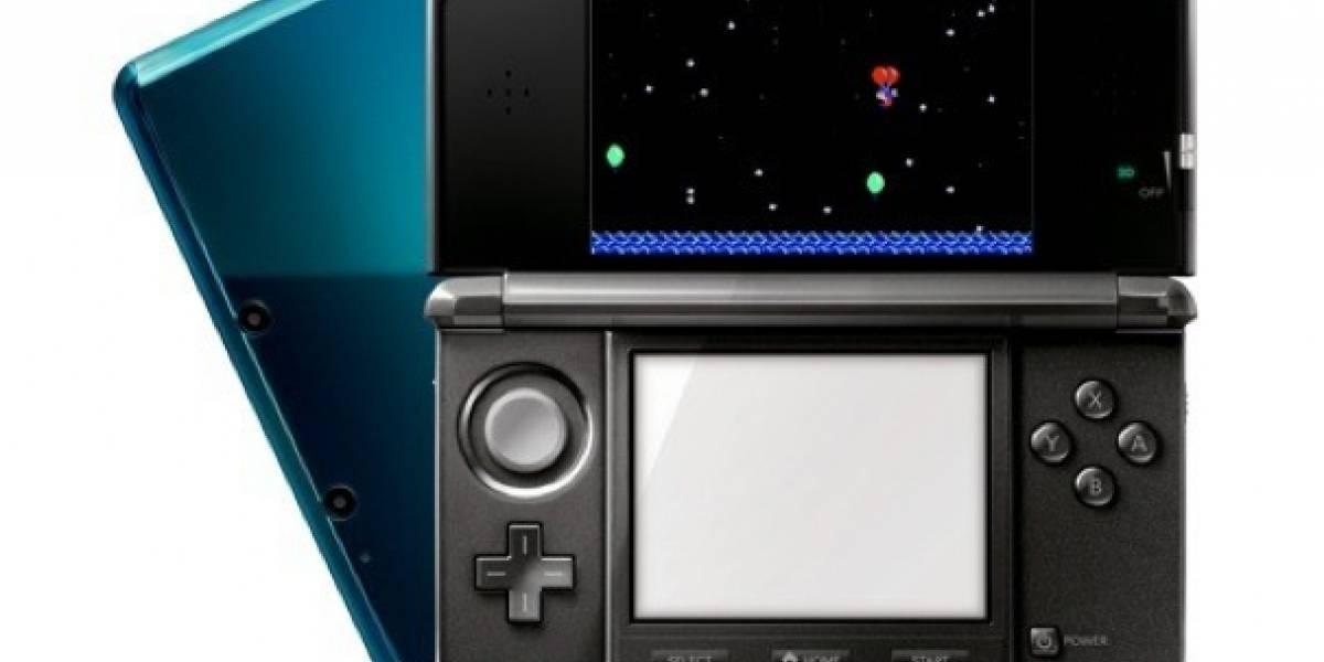 Juegos de NES para la 3DS serán multiplayer (en un tiempo)