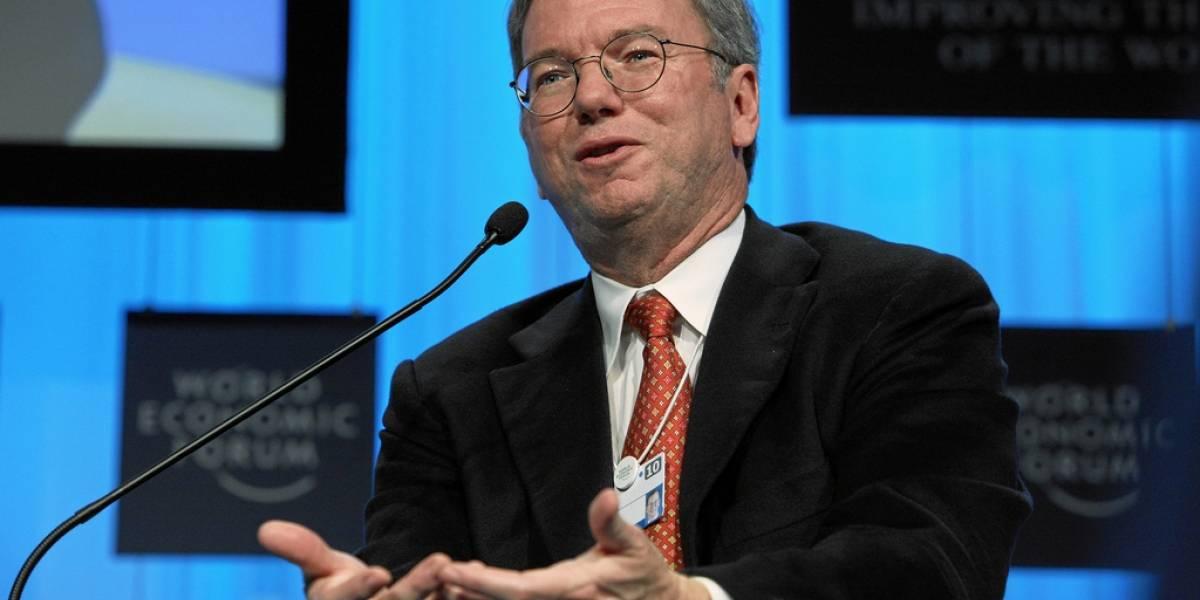 Eric Schmidt defiende a Google ante críticas que paga pocos impuestos en Reino Unido