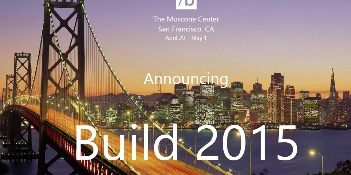 Microsoft anuncia fechas de la próxima conferencia de desarrolladores Build 2015