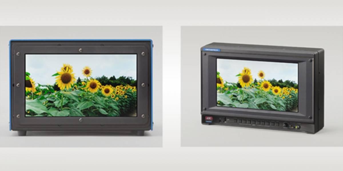 Crean la pantalla con resolución 4K más pequeña del mundo: sólo 9,6 pulgadas